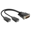 Adaptér DMS-59 na 2x Displayport