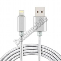 Apple iPhone 5/5S/SE 6 7 8 Plus X,iPad mini Air Pro, iPod nano USB datový kabel 1m ― Deltamobile Internetový-obchod
